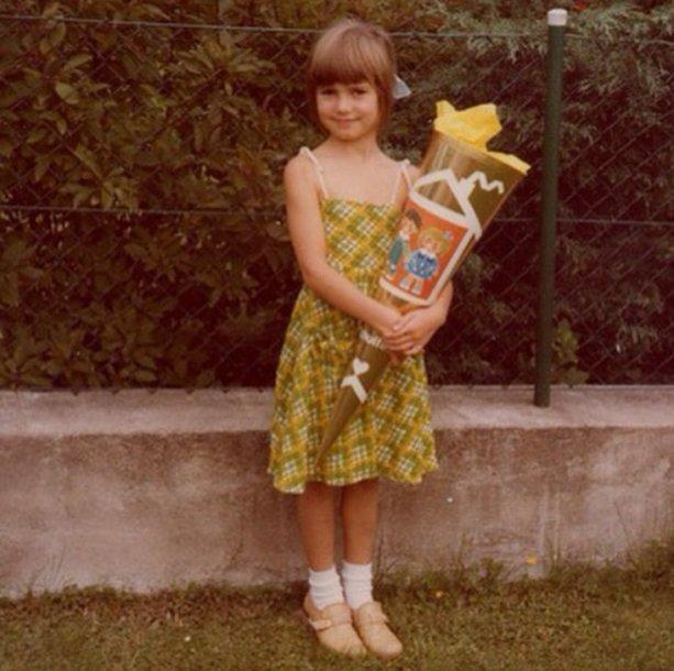 Heidi Klum vaikystėje