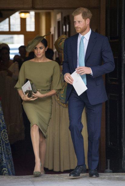 Sasekso hecogienė Meghan ir princas Harry
