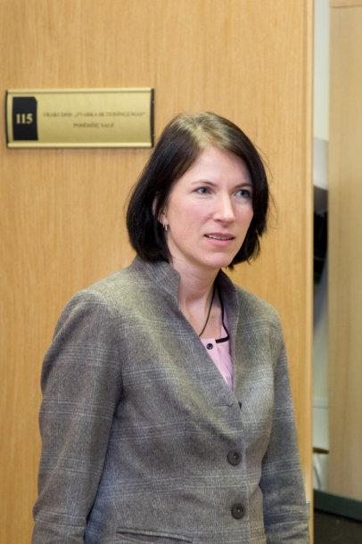 Valstybinės kainų ir energetikos kontrolės komisijos pirmininkė Inga Žilienė