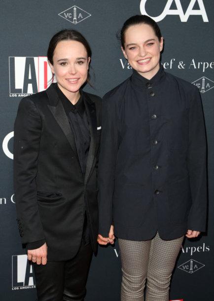 Ellen Page ir Emma Portner