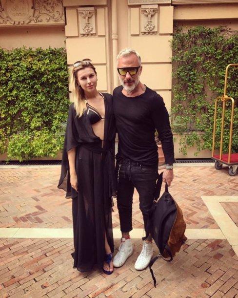 Deimantė Andriuškaitė ir Gianluca Vacchi
