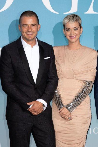 Katy Perry ir Orlando Bloomas