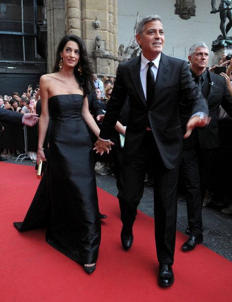 Amal Alamuddin ir George'as Clooney